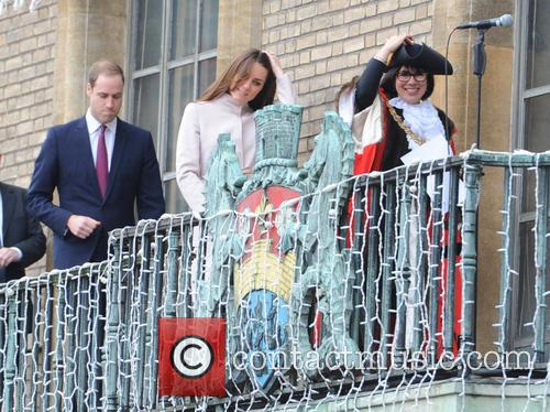 Prince William, Duke, Cambridge, Catherine, Duchess and Peterborough City Hospital. It 1