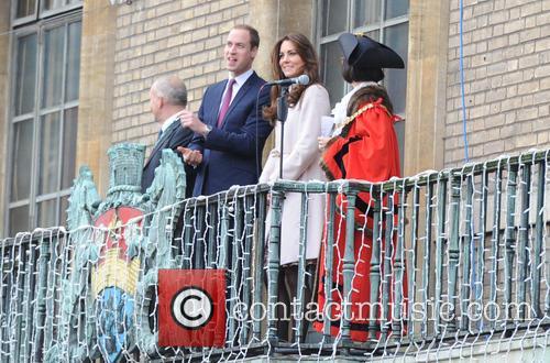 Prince William, Duke, Cambridge, Catherine, Duchess and Peterborough City Hospital. It 4