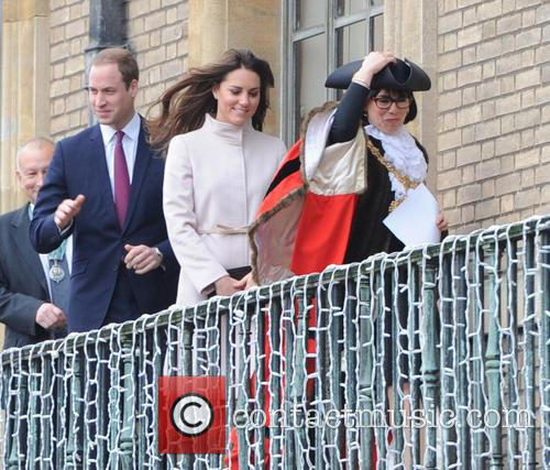 Prince William, Duke, Cambridge, Catherine, Duchess, Peterborough City Hospital. It