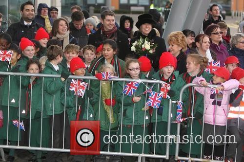 Prince William, Duke, Cambridge, Catherine, Duchess and Peterborough City Hospital. It 2