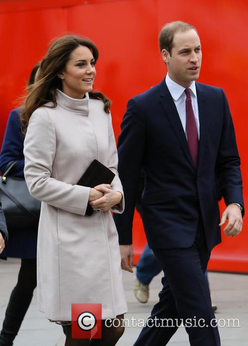 Prince William, Duke, Cambridge, Catherine, Duchess, Kings Cross, Peterborough and Peterborough City Hospital 11