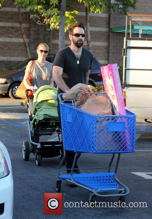 Katherine Heigl, Josh Kelly, Adalaide and Party City 1