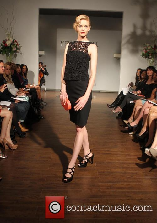 Kevan Hall Presents His, Spring, Collection