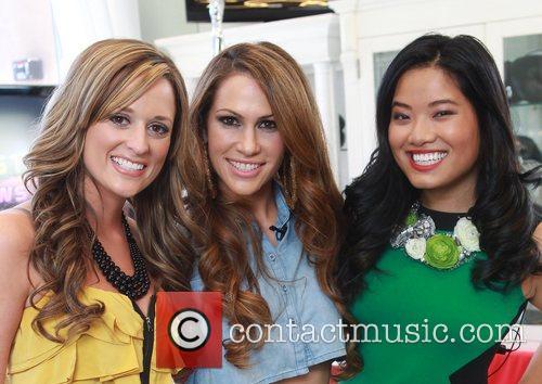 Katherine Barber, Kimberley Cole and XiXi Yang Kimberley...