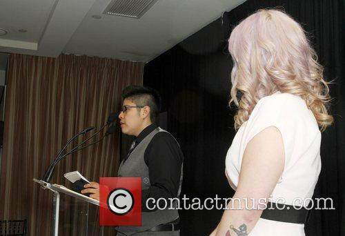 Ana Campos and Kelly Osbourne The Los Angeles...