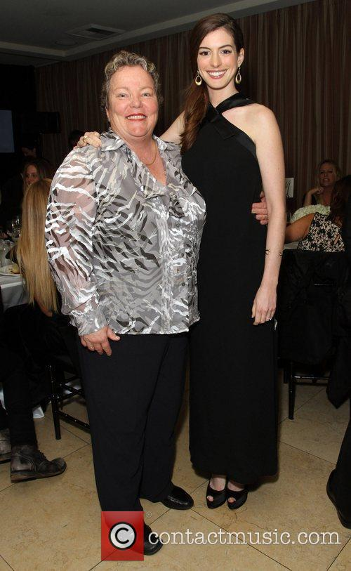 Lori Jean and Anne Hathaway The Los Angeles...