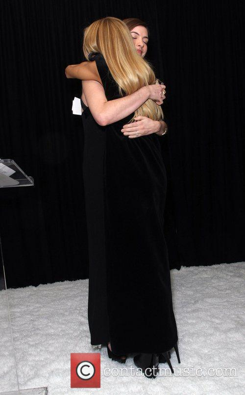 Rachel Zoe and Anne Hathaway 6