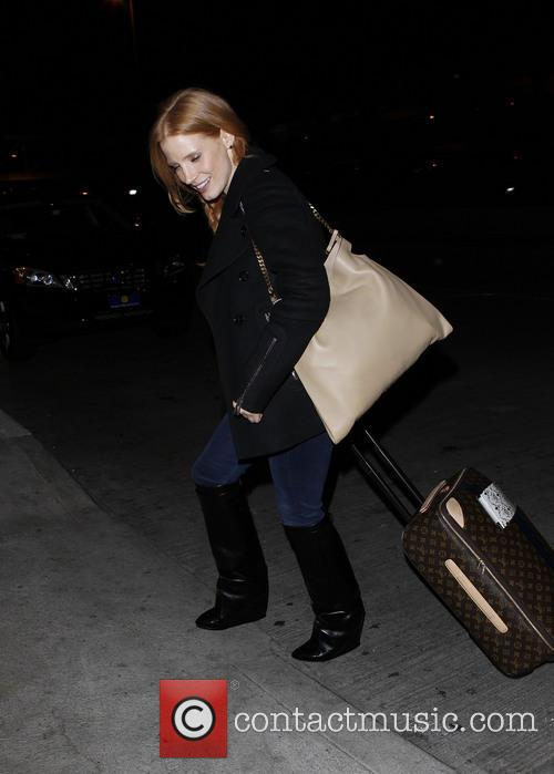Jessica Chastain and New York 2