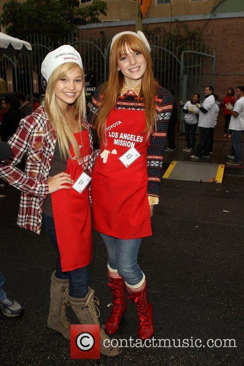 Bella Thorne and Olivia Holt 1