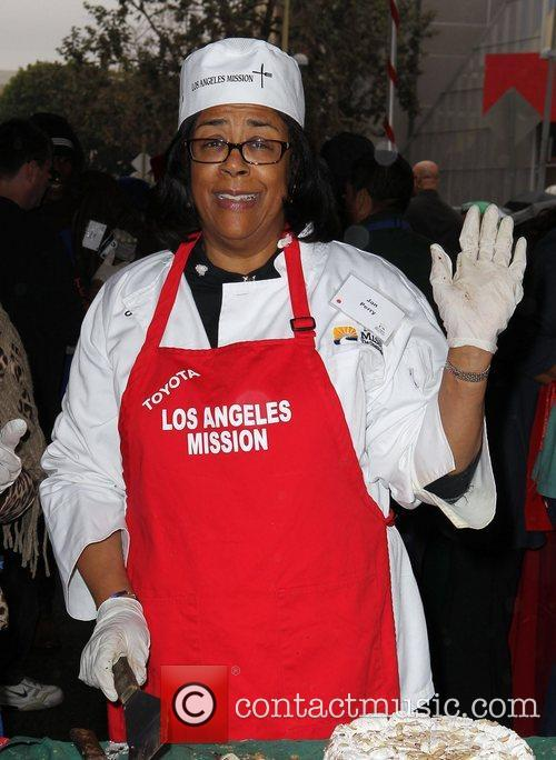 Jan Perry Los Angeles Mission Christmas Eve For...