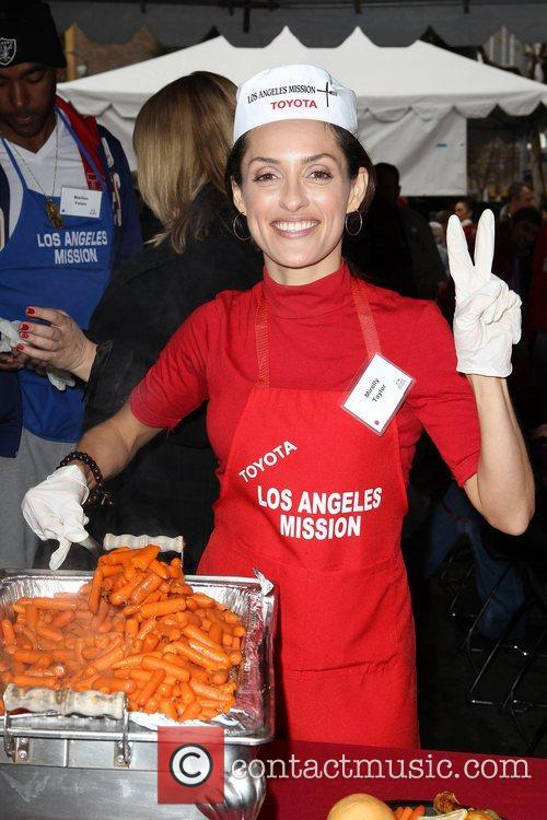 Mirelly Taylor Los Angeles Mission Christmas Eve For...