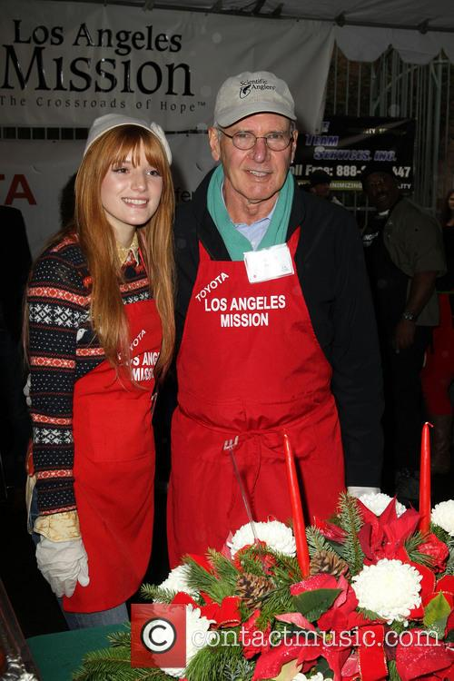 Bella Thorne and Harrison Ford 6