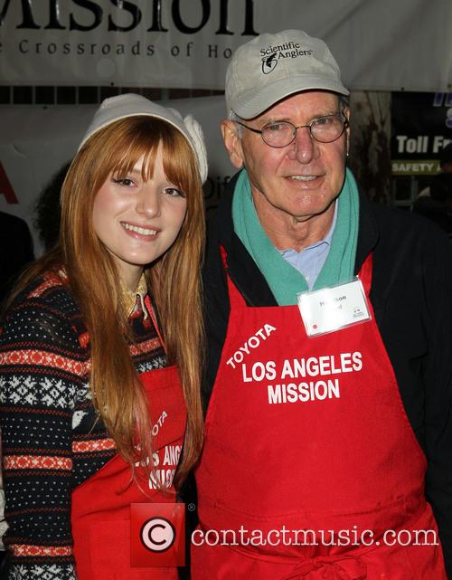Bella Thorne and Harrison Ford 8