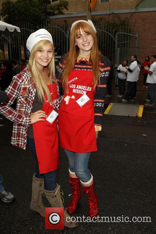 Bella Thorne and Olivia Holt 7