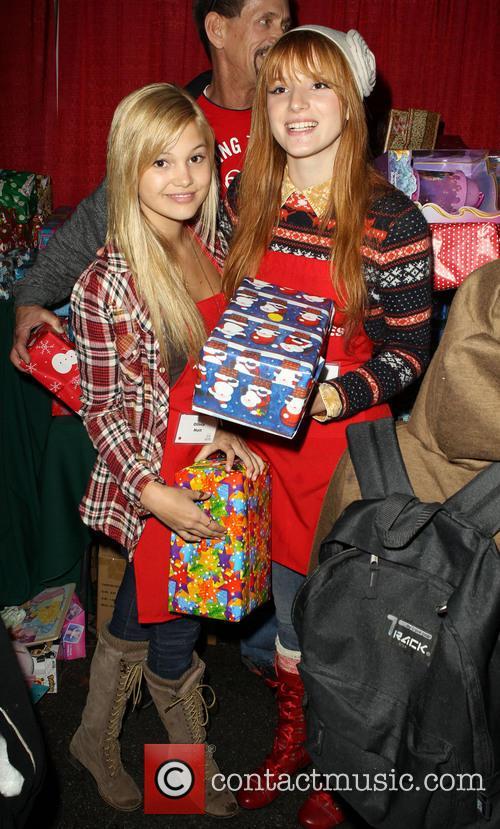 Bella Thorne and Olivia Holt 9