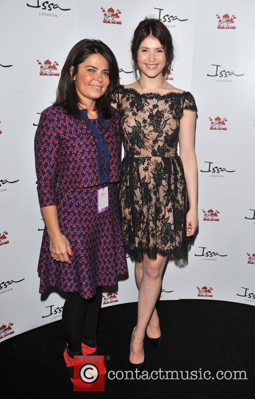 Daniella Helayel of Issa and Gemma Arterton London...