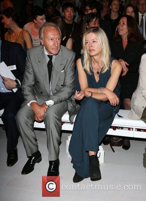 Lady Helen Taylor and Harold Tilman London Fashion...