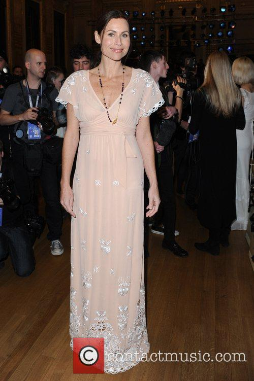 Minnie Driver and London Fashion Week 2