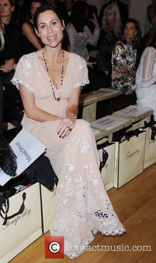 Minnie Driver and London Fashion Week 3