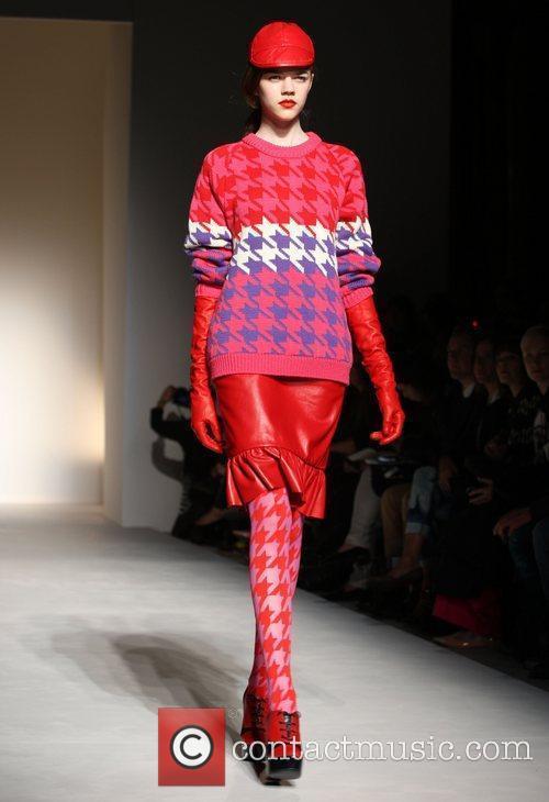 Model London Fashion Week Autumn/Winter 2012 - House...