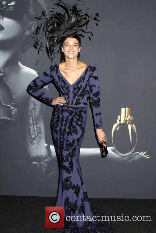 Crystal Renn Lady Gaga 'Fame' Fragrance Launch at...