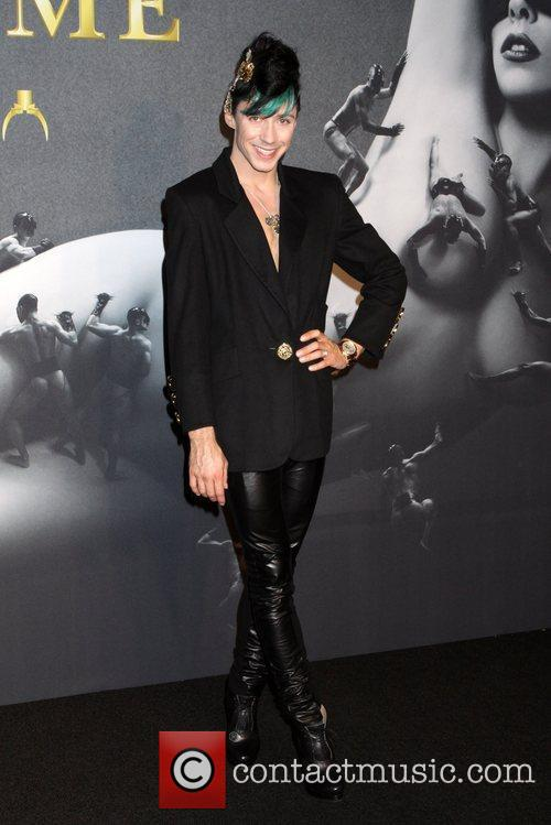 Johnny Weir-Voronov  Lady Gaga 'Fame' Fragrance Launch...