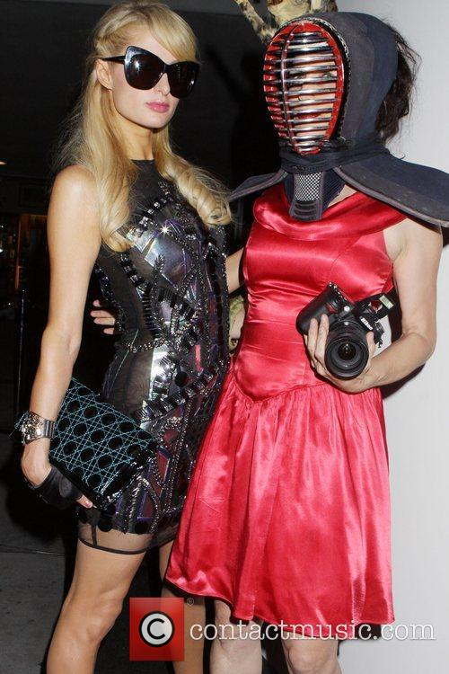 Paris Hilton, Guest Lady Gaga 'Fame' Fragrance Launch...