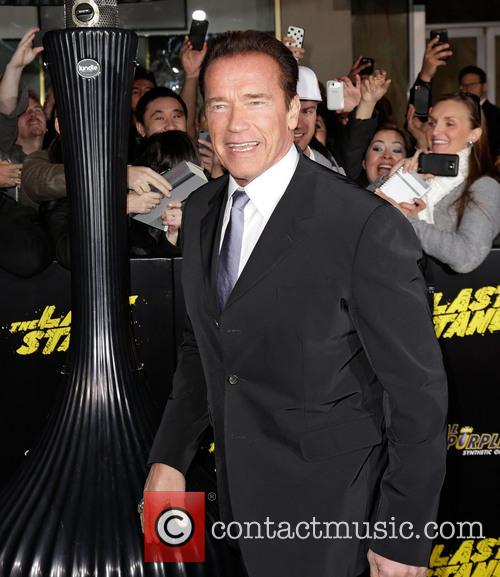 Arnold Schwarzenegger and Grauman's Chinese Theatre 7