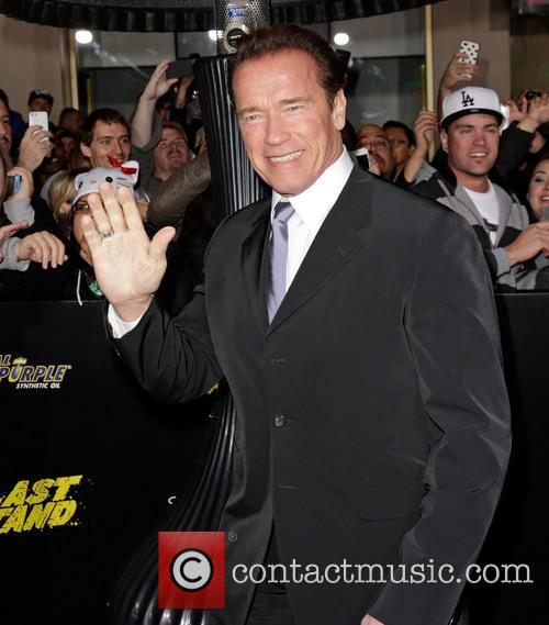 Arnold Schwarzenegger and Grauman's Chinese Theatre 5