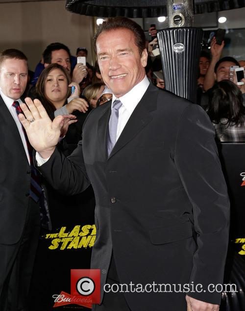 Arnold Schwarzenegger and Grauman's Chinese Theatre 3