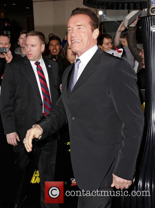 Arnold Schwarzenegger and Grauman's Chinese Theatre 6