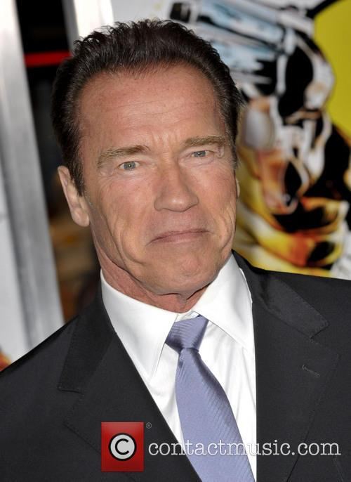 Arnold Schwarzenegger and Grauman's Chinese Theatre 9