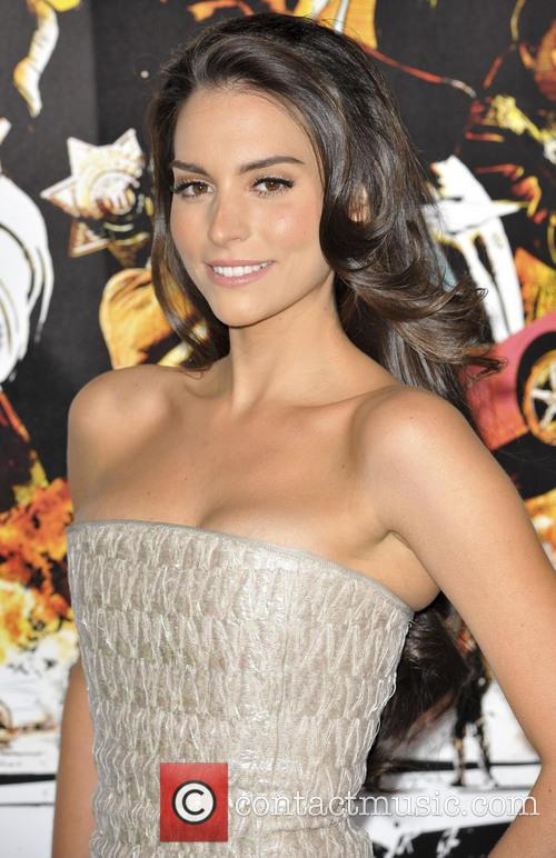 Genesis Rodriguez and Grauman's Chinese Theatre 4
