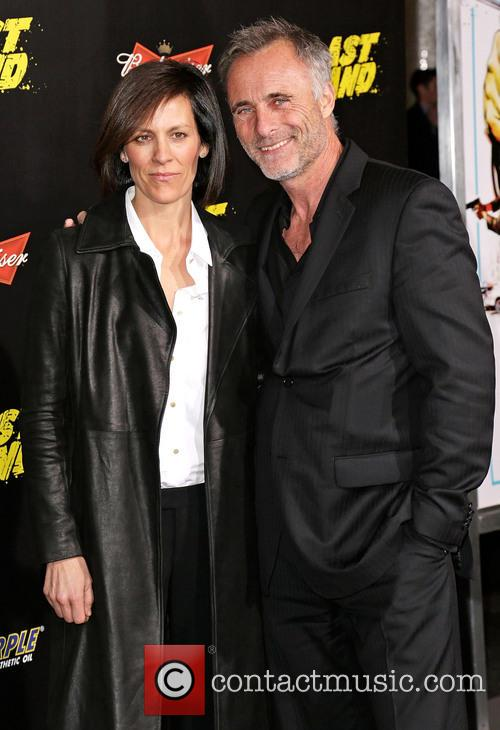 Annabeth Gish, Timothy V. Murphy and Grauman's Chinese Theatre 1