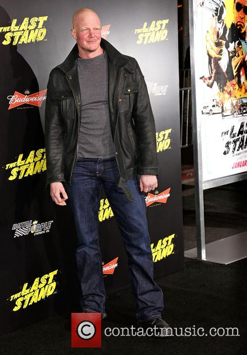 Derek Mears and Grauman's Chinese Theatre 1