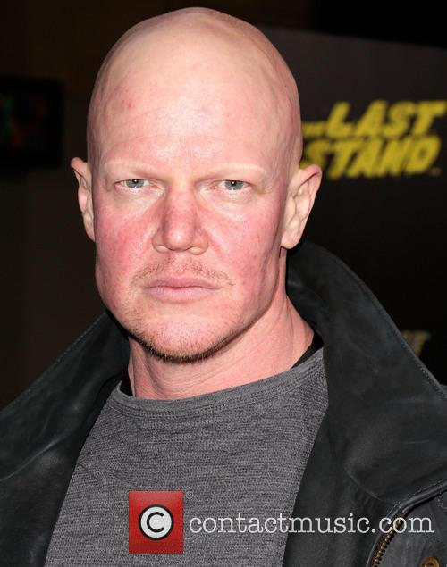 Derek Mears and Grauman's Chinese Theatre 3
