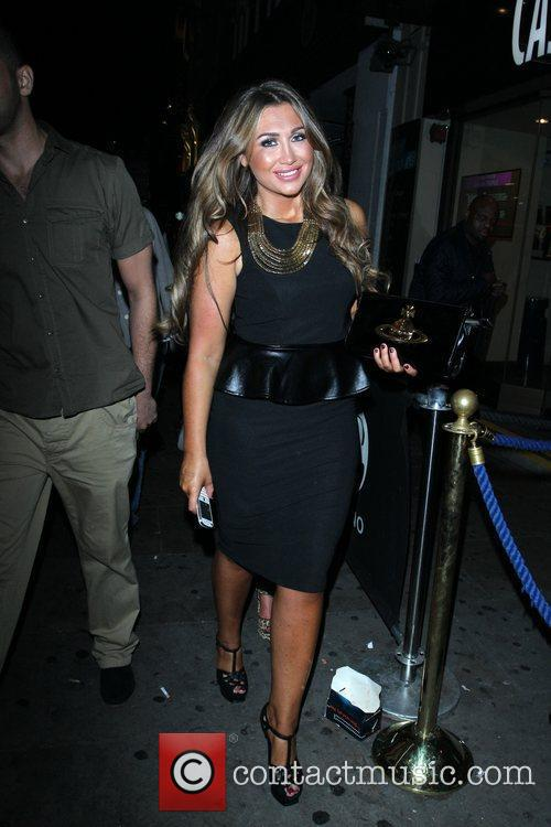 Lauren Goodger and Cafe De Paris 10