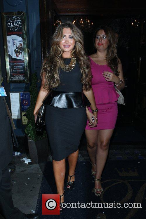 Lauren Goodger and Cafe De Paris 12