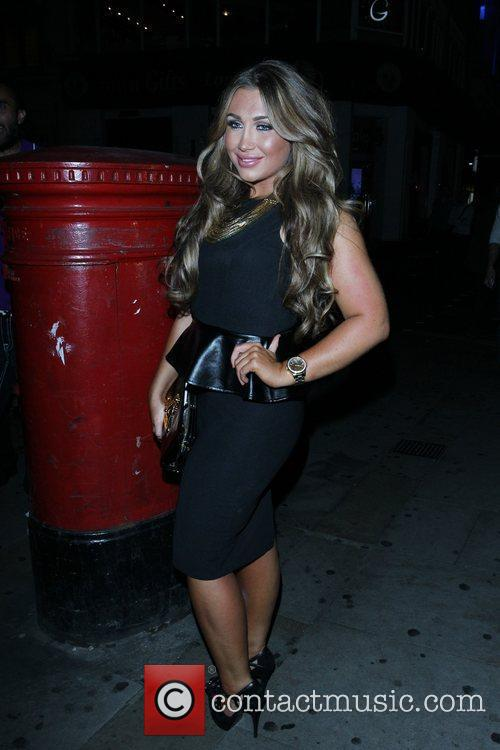 Lauren Goodger and Cafe De Paris 18