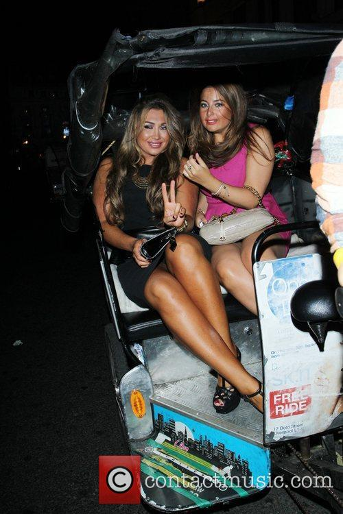 Lauren Goodger and Cafe De Paris 30