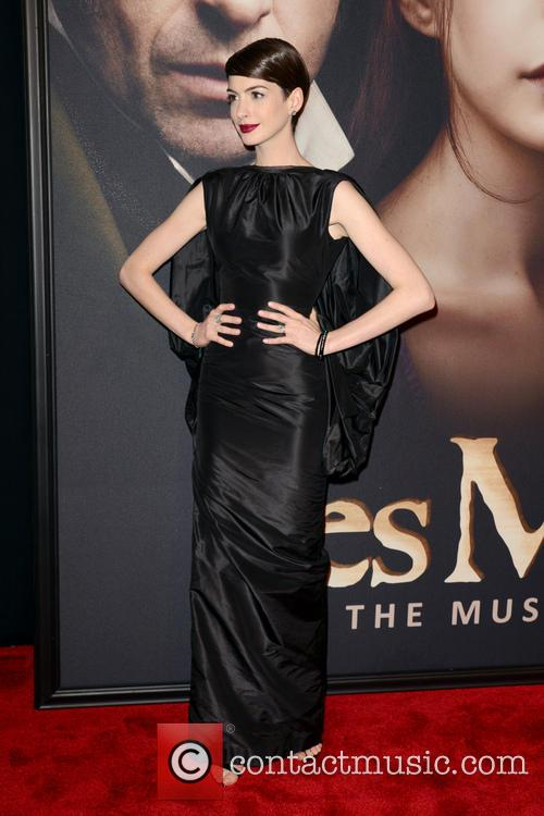 Anne Hathaway, Les Miserables, New York Premiere and Ziegfeld Theatre 2