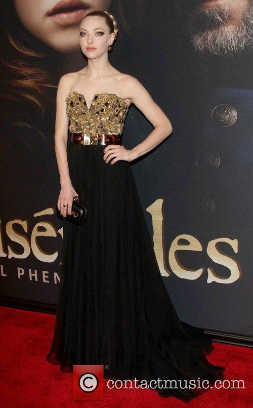 Amanda Seyfried, Les Miserables Premiere