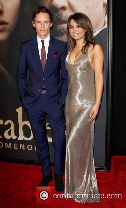 Eddie Redmayne and Samantha Banks