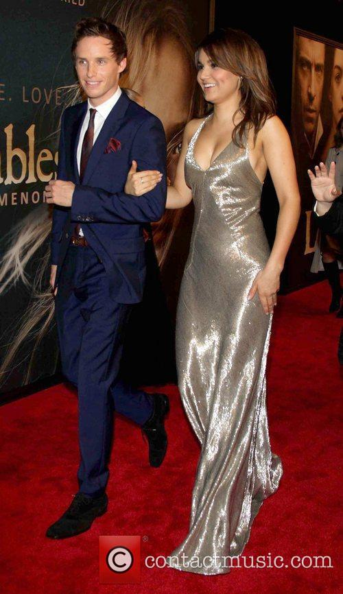 Eddie Redmayne, Samantha Banks and Ziegfeld Theatre 8