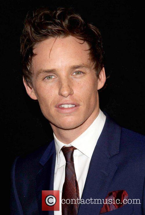 Eddie Redmayne and Ziegfeld Theatre 3