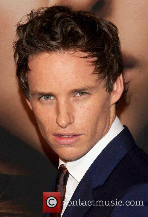 Eddie Redmayne and Ziegfeld Theatre 1