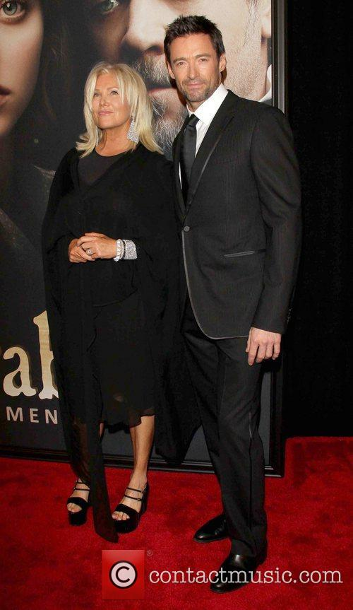 Hugh Jackman, Deborra-lee, Furness and Ziegfeld Theatre 1