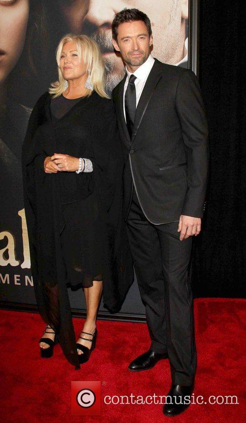 Hugh Jackman, Deborra-Lee, Furness, Ziegfeld Theatre