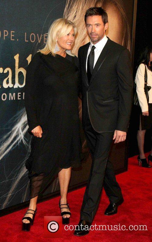 Hugh Jackman, Deborra-lee, Furness and Ziegfeld Theatre 2