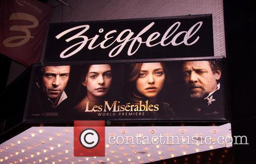 Les Miserables, New York Premiere, Arrivals and Ziegfeld Theatre 1